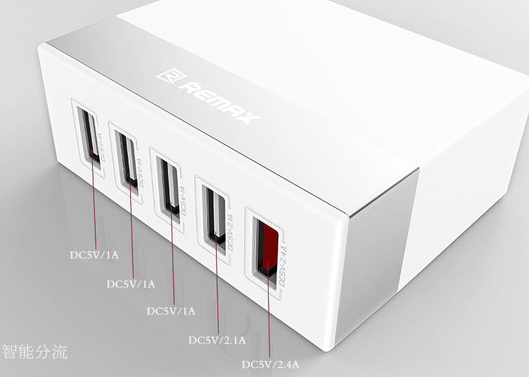 Remax 5 USB Charger